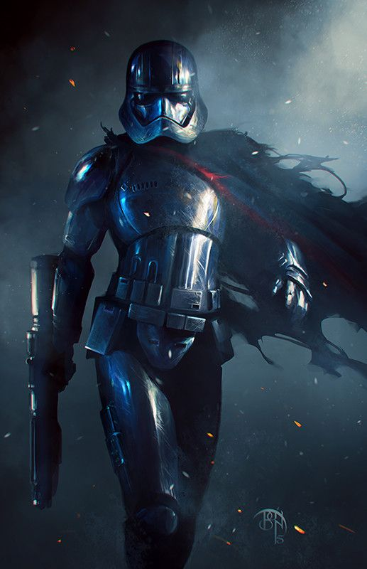 Tribute to Captain Phasma from Star Wars: The... | Cinema Gorgeous