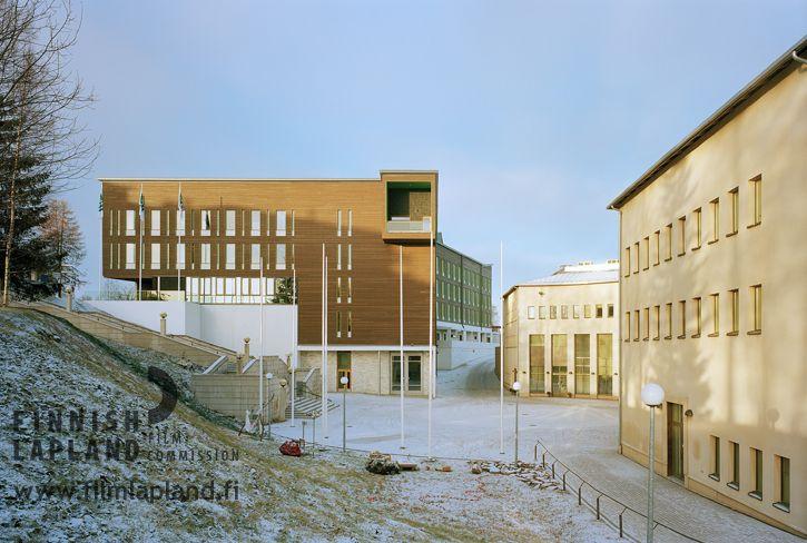Pilke House in Rovaniemi, Finnish Lapland. Photo by Jussi Tiainen. #filmlapland #finlandlapland #arcticshooting