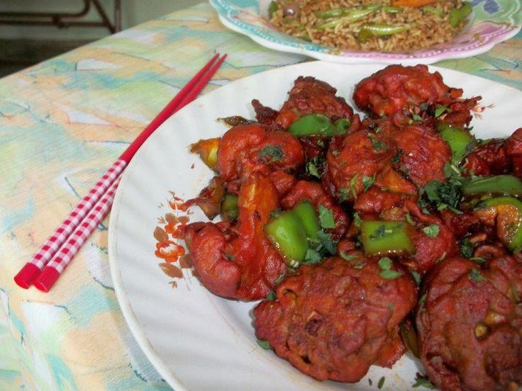 Chilli Gobi / Dry Chilli Cauliflower – Indo Chinese Recipes