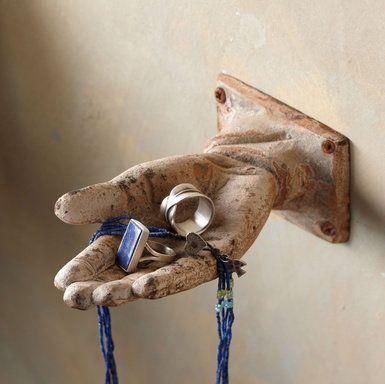 HELPING HANDS - Jewelry Storage - Accessories - Jewelry   Robert Redford's Sundance Catalog from Sundance