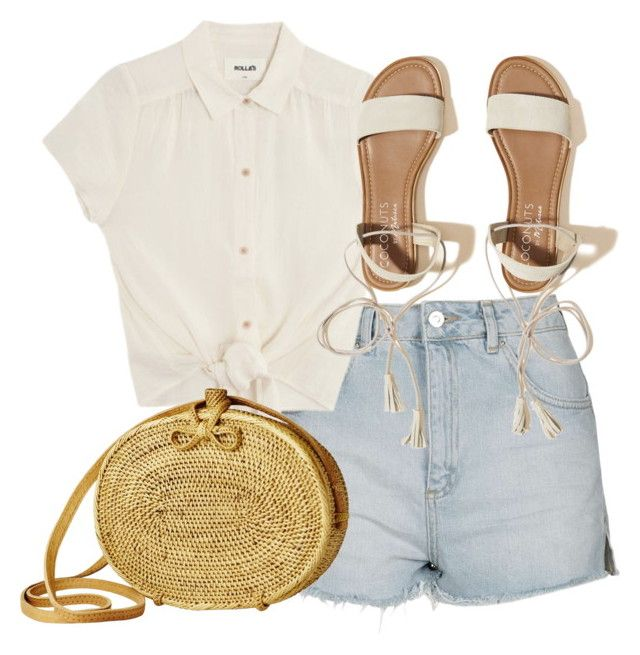 """Untitled #5188"" by theeuropeancloset on Polyvore featuring Topshop and Hollister Co."