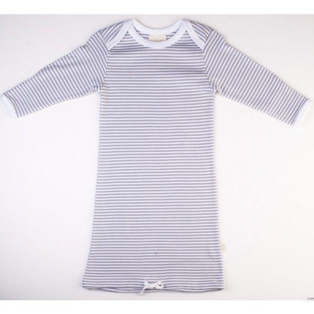 Pureborn Organic Cotton Sleepsack - Grey stripe - Baby Apparel - Baby