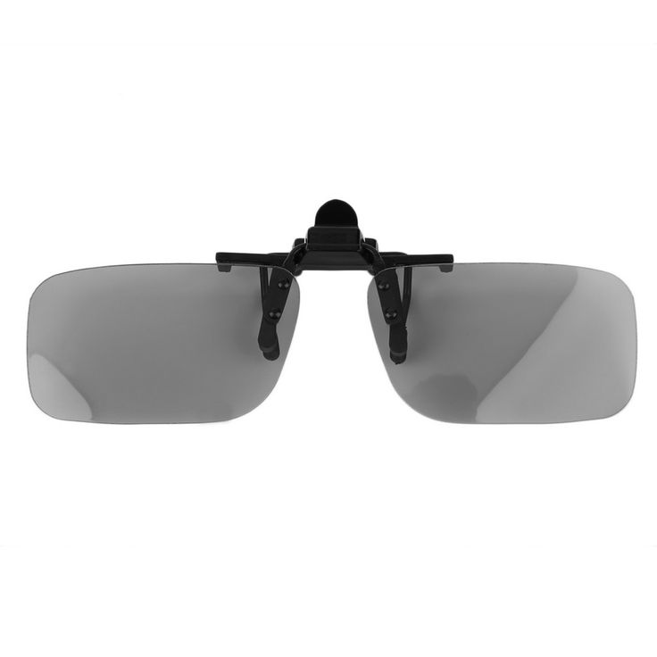 Cheap Clip on Prescription Passive Circular Polarized 3D Glasses  Film 3D Passive Watching Glasses Clip for TV Cinema Film