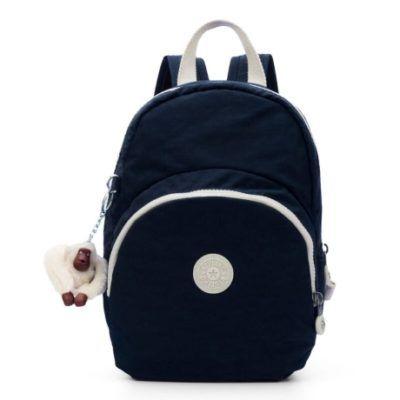 mochilas kipling azul marinho