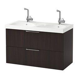 muebles de bao y armarios para lavabo ikea