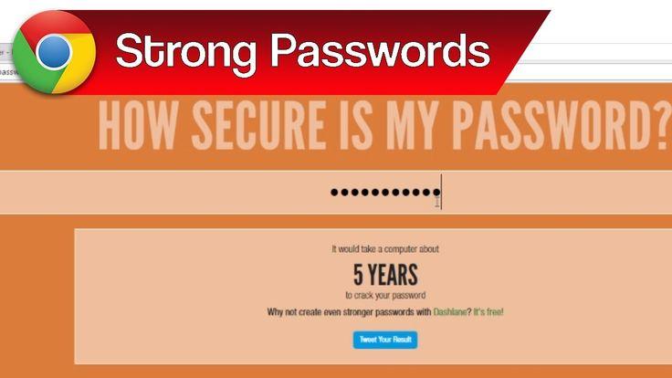 Strong Passwords, Strong Password Tips & Password Strength Checker | How...