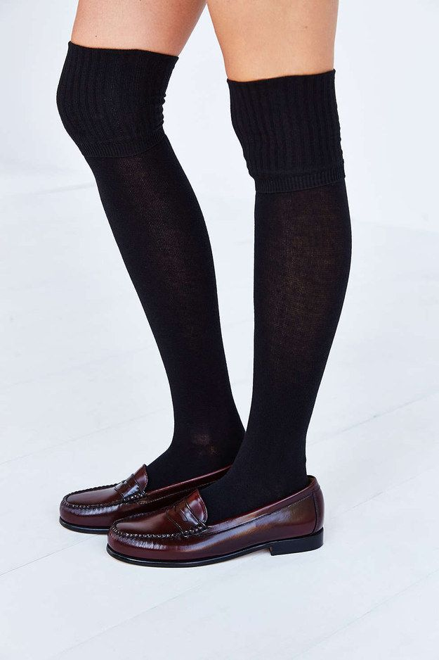 25 best ideas about black knee high socks on pinterest