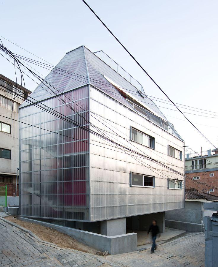 Silver Shack_ Housing in Sangsu-Dong_ C.pereira architects
