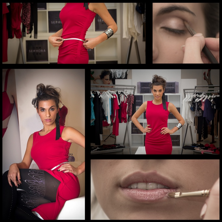 Work for Sephora & Wolford.