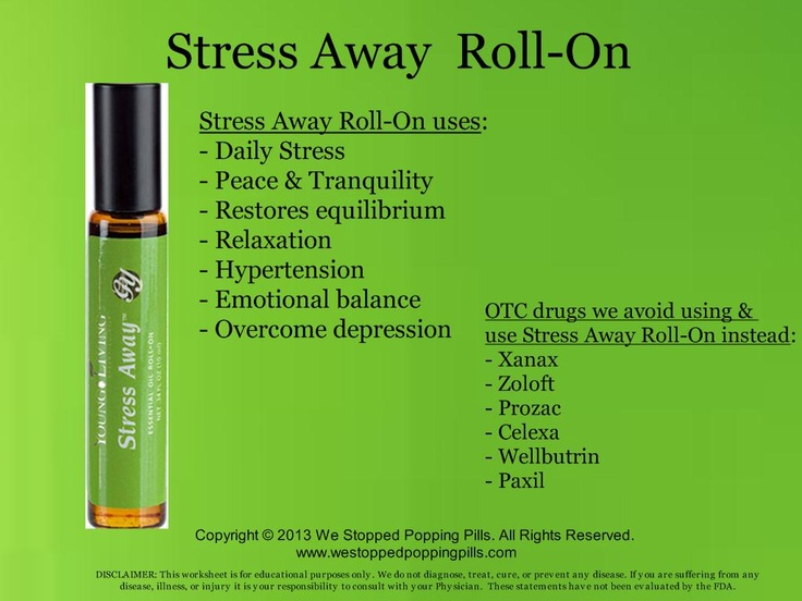 13 Best Images About Stress Away Young Living On Pinterest