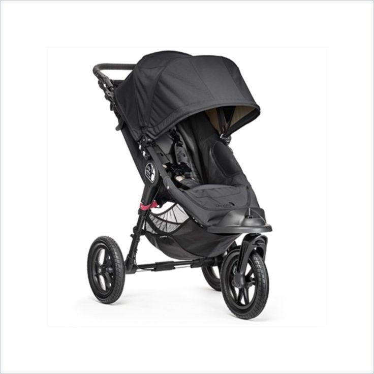 Baby Jogger City Elite Baby Stroller in Black