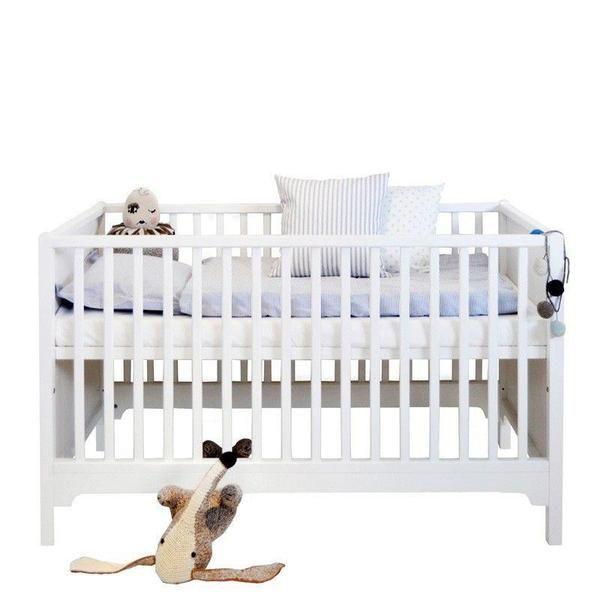 Oliver Furniture  Babybett Seaside  Weiss 70 x 140 cm