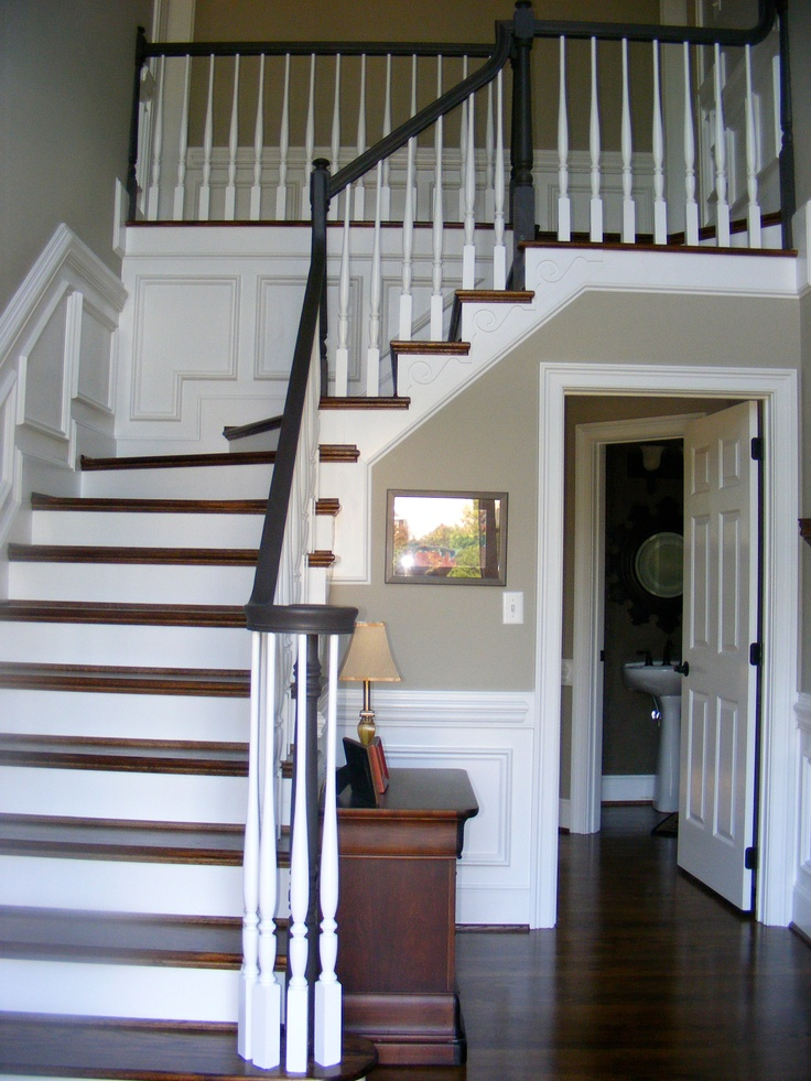 1000 Images About Painted Banister Stairs On Pinterest