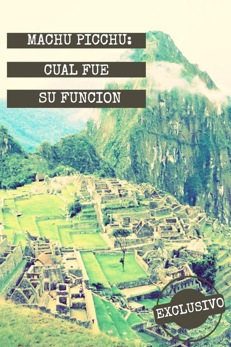 Desde una tumba para el emperador Inca hasta una ciudadela de descanso... algunas de las teorías sobre cuales fueron las funciones de #MachuPicchu en #cusco