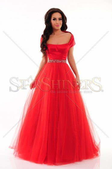 Sherri Hill 21249 Red Dress
