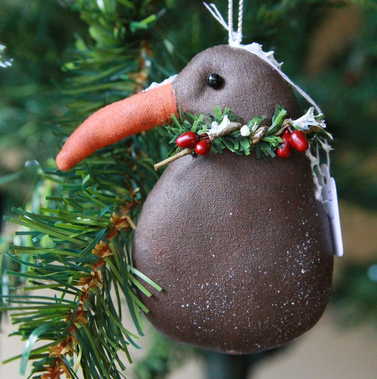 Lovely little New Zealand kiwi by The Christmas Den on Etsy