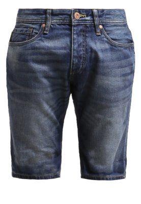 JJORRICK ORIGINAL  - Szorty jeansowe - blue denim