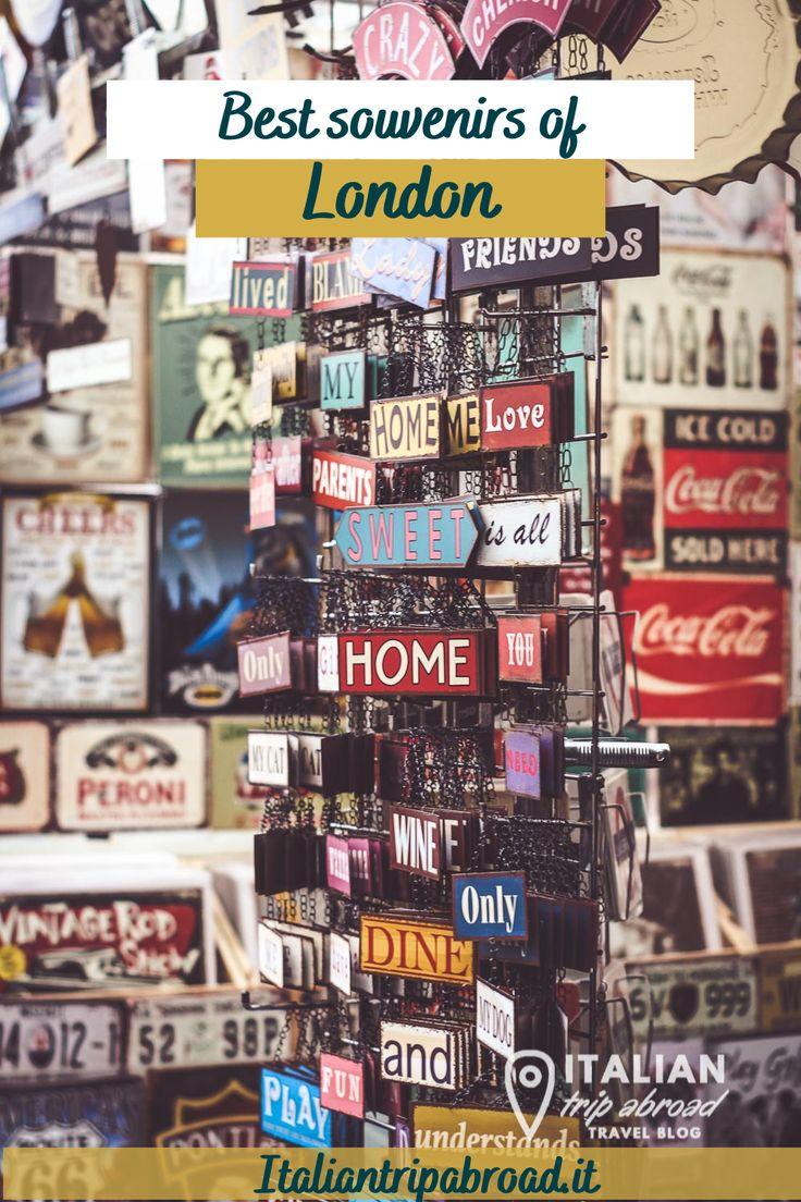 Best souvenirs of London