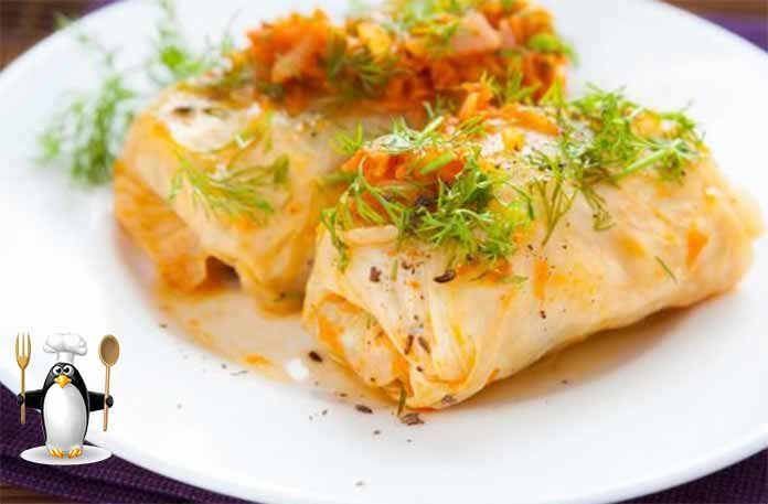 Голубцы из савойской капусты получаются очень аппетитными и красивыми. Никого не хочу удивить этим блюдом, но и не поделиться не могу. Я являюсь большим любителем савойской капусты и считаю, что она для голубцов подходит лучше всего, попробуйте... ИНГРЕДИЕНТЫ  листы савойской капусты по количеству голубцов 200 г. свежего болгарского перца без кожи 0,8 кг. японского риса для суши отварного, заправленного 50 г. стебля сельдерея 250 г. кабачков 250 г. баклажанов, без кожи 100 г. китайской…