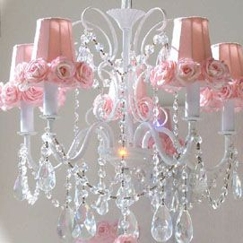 Find This Pin And More On Kid Stuff By Gramaluv1975 Pink Chandeliers