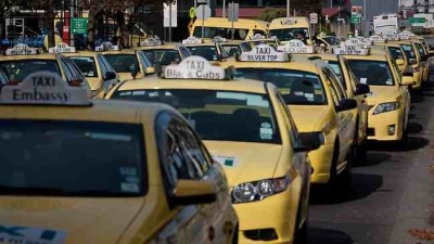 Good taxis make our city a better place  Taxis at Melbourne Airport. Picture: Jake Nowakowski    TAXI reform. It's a service first, supply a second issue. Yesterday the State Government handed down its reforms for Victoria's taxi industry.   | TooManyTaxis Taxi News