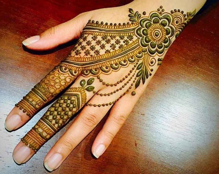 Mehndi Patterns Instagram : Best hair and beauty henna for hands حنا mehndi
