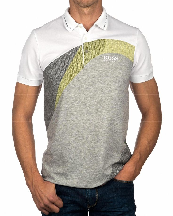 Polos HUGO BOSS ® Paddy Pro 3 - Blanco | Envio Gratis
