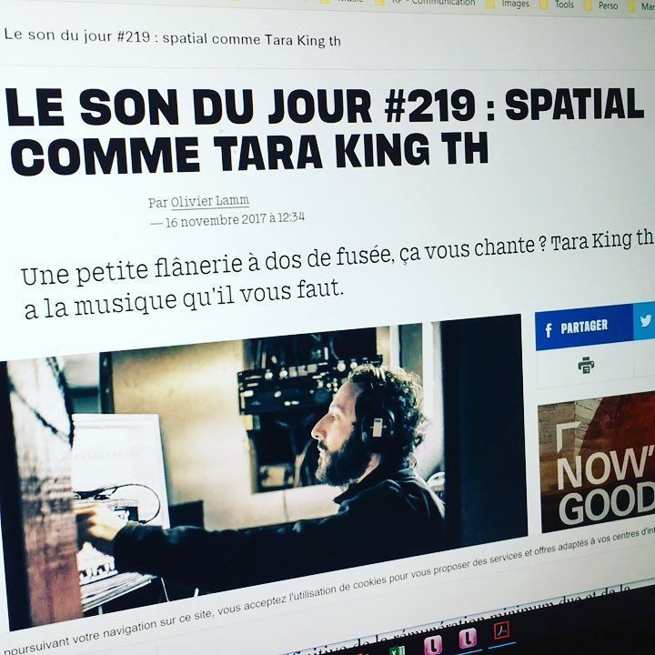On parle de Tara King th. dans @liberationfr ! Disponible sur toutes les plateformes de téléchargement et streaming via #jtvdigital. #tarakingth #petrolchips #indie #music #artiste #musique #psychedelic @ray.borneo