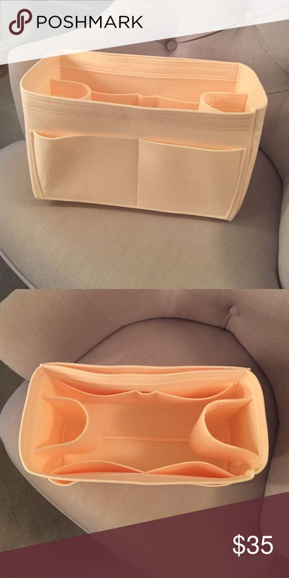 Louis Vuitton Neverfull MM Bag Organizer A bag organizer for the Louis Vuitton Neverfull MM. Lightweight and sturdy, made out of felt. Never been used because I ordered the wrong size. Samorga Bags