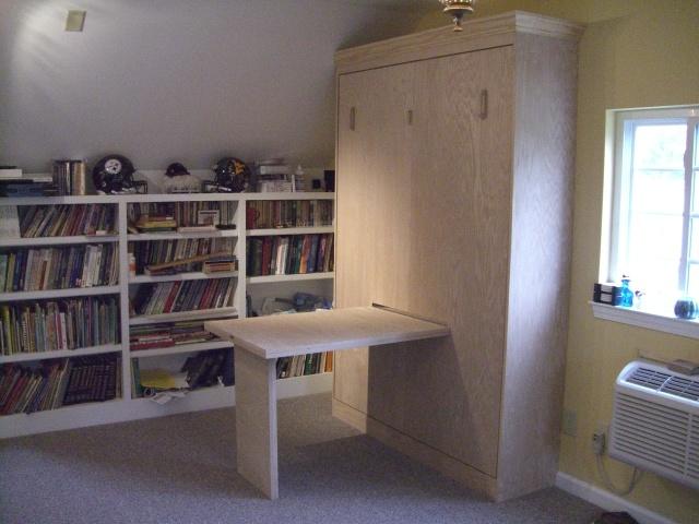 fold down desk murphy beds and desks on pinterest
