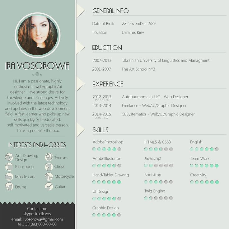 The 25+ best Free creative resume templates ideas on Pinterest - free creative resume templates