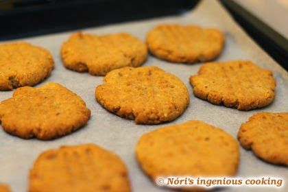 Nóri's ingenious cooking: Hazelnut shortbread cookies: sugarfree, gluten-free, vegan recipe