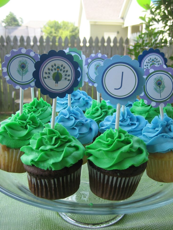 Peacock+Party+Decorations+Ideas | Blissful Customers} Jack's Peacock Birthday! Posted September 8 ...