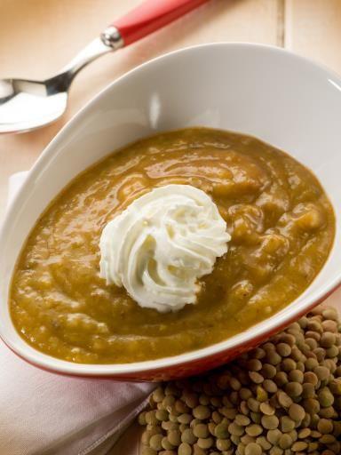 Les 25 meilleures id es de la cat gorie salade de - Cuisiner les lentilles vertes ...