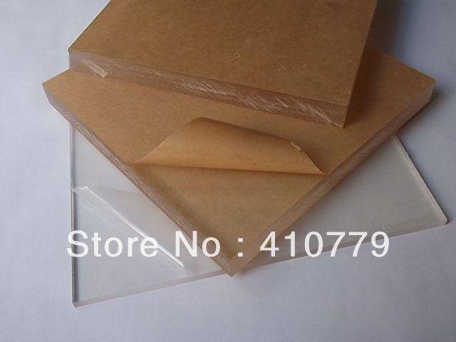 Акриловые Листы 400x800x3 мм Home Decor Мебель Полистирол Пластиковые Строительные Материалы Подарочные Карты Вырезать Любой Размер
