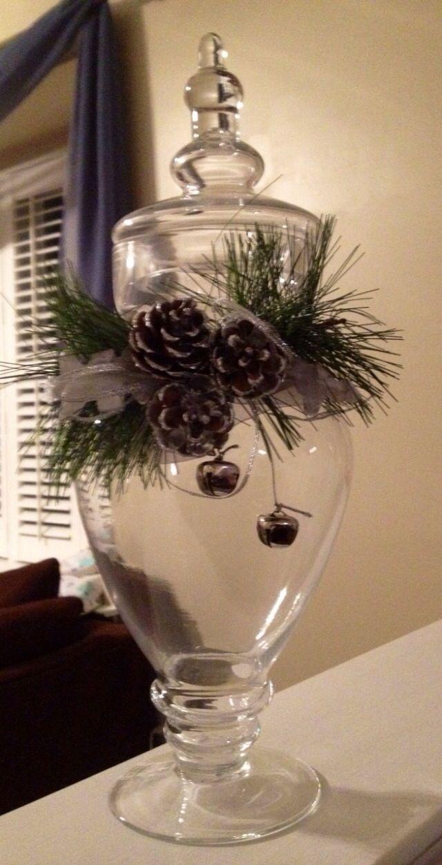 kary1954: Christmas candy jar  .