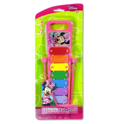 Disney Jr. Minnie Mouse Bowtique Pink Xylophone with foil sticker in 3D Blister - @ niftywarehouse.com #NiftyWarehouse #Disney #DisneyMovies #Animated #Film #DisneyFilms #DisneyCartoons #Kids #Cartoons