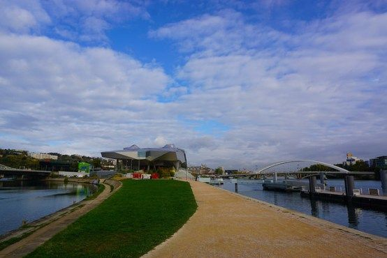 Musée des Confluences in La Confluence neighborhood