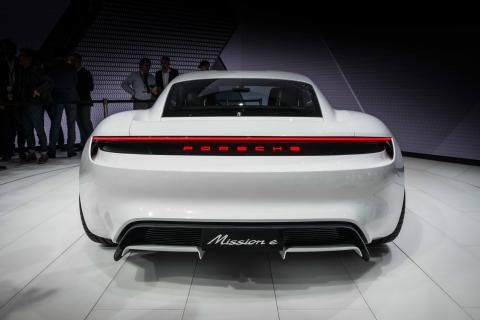 Welcome, readers, to the future. A future where a 600bhpPorschesports car has four doors, four full-size seats, four-wheel drive and dispatches 0-62mph in under 3.5 seconds, yet there's not a drop of unleaded insight.