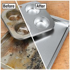 Eventually most people wind up trashing these pots and pans to buy new ones, but these is a much better solution. This will also save yo...