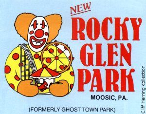Rocky Glen Park, Moosic, PA. Abandoned amusement park. Was so much fun back in the day!