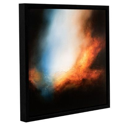 ArtWall 'Shades of the Dawn' by Paul Bennett Framed Painting Print on Canvas Size: