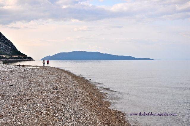 Kefalonia, Poros beach