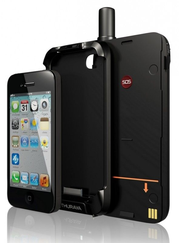 Thuraya SatSleeve turns your iPhone into a satellite phone.