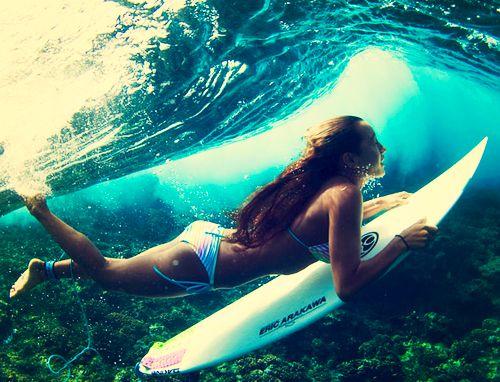 cool underwater shot