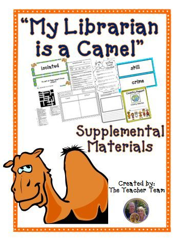 10 best my librarian is a camel images on pinterest camel my librarian is a camel journeys 4th grade unit 1 lesson 3 activities fandeluxe Images