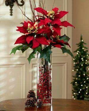 Las 25 mejores ideas sobre arreglos florales de navidad - Ideas de arreglos navidenos ...