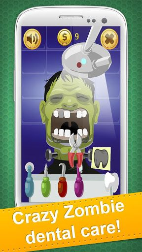 All fans of dentist office games, horror sounds and scary pictures, welcome to the monster doctor world!<br>Halloween Dentist is a horror virtual surgery and exciting Halloween dental care game for girls and boys.  Play a role of a zombie dentist and deal with the dental surgery and VIP dental care.<p>New dental office of the scary celebrity dentist is a place for vampires, Halloween pumpkins and other evil spirits. And they are looking for clean and sparkly teeth!<p>**How to play. Click on…