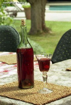 Vin d'orange - Recettes de cuisine de Provence