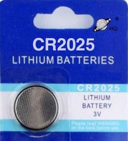 CR2025 Button / Coin Battery